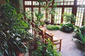 Center conservatory, chairs