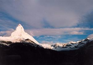 White Matterhorn and range