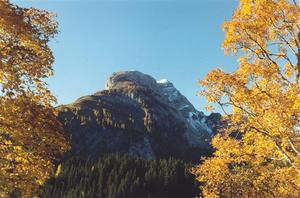 Mountain in Lauenensee