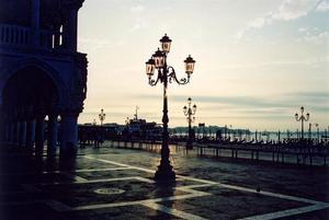 Sunset in St. Marco Square, Venice