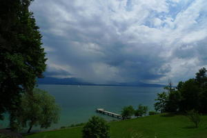 Lake Geneva at Buchillon