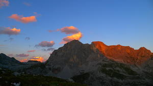 Sunset at the Sulzhütte
