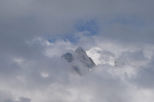Cloudy View from Muerren